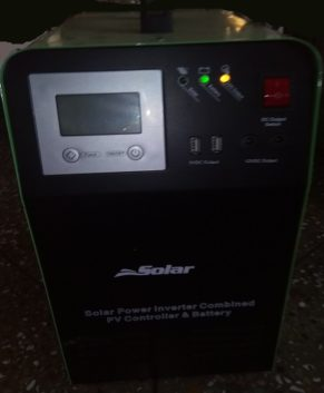 2000VA Combined inverter, battery and charger