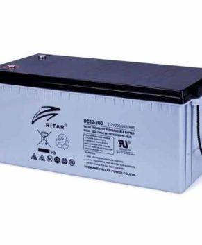 RITAR SOLAR SAGM 200Ah 12V DEEP-CYCLE BATTERY