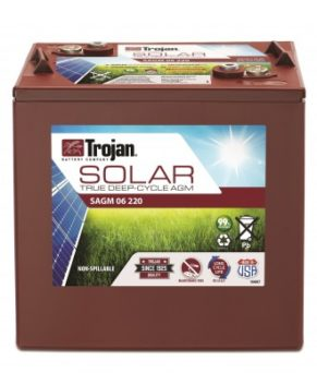 TROJAN SOLAR SAGM 12 205 12V DEEP-CYCLE BATTERY