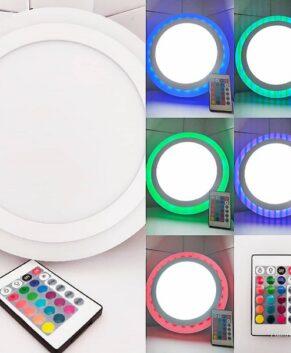 (18+6)W Multiple colour LED Panel Light -Surface (101055)