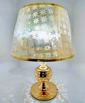 Bedside lamp with LED light base